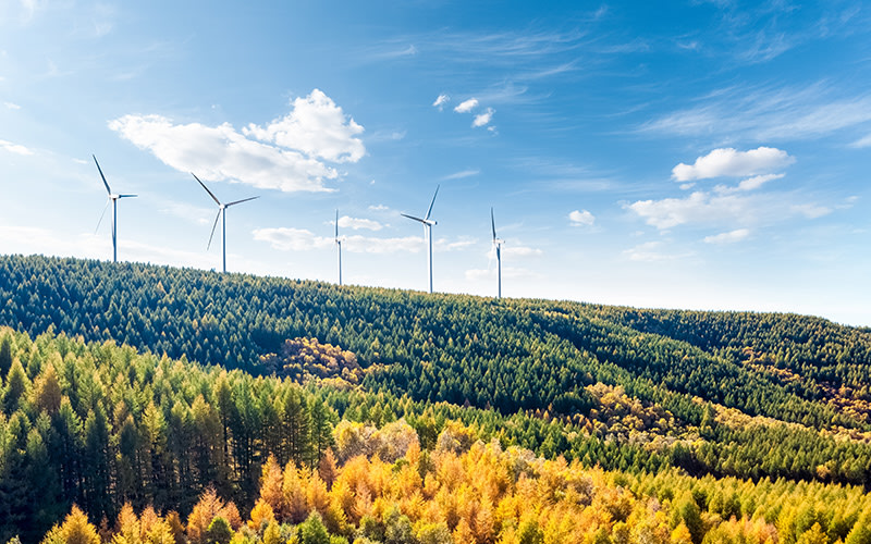 Windy September doubled Enefit Green's renewable electricity production compared to August