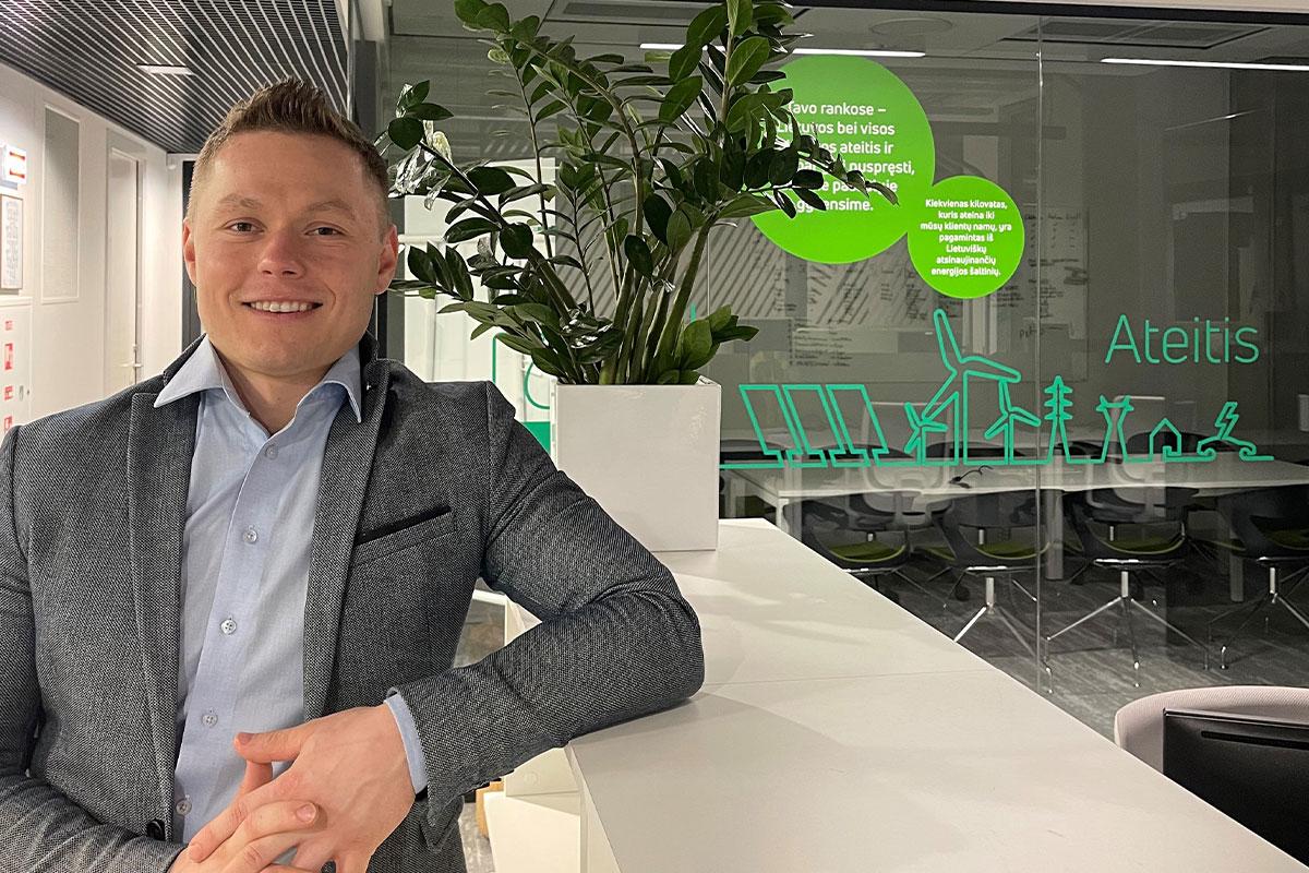 Lietuvoje populiarėjantys ilgalaikiai elektros pirkimo sandoriai įmonei leis sutaupyti 50 tūkst. Eur per metus