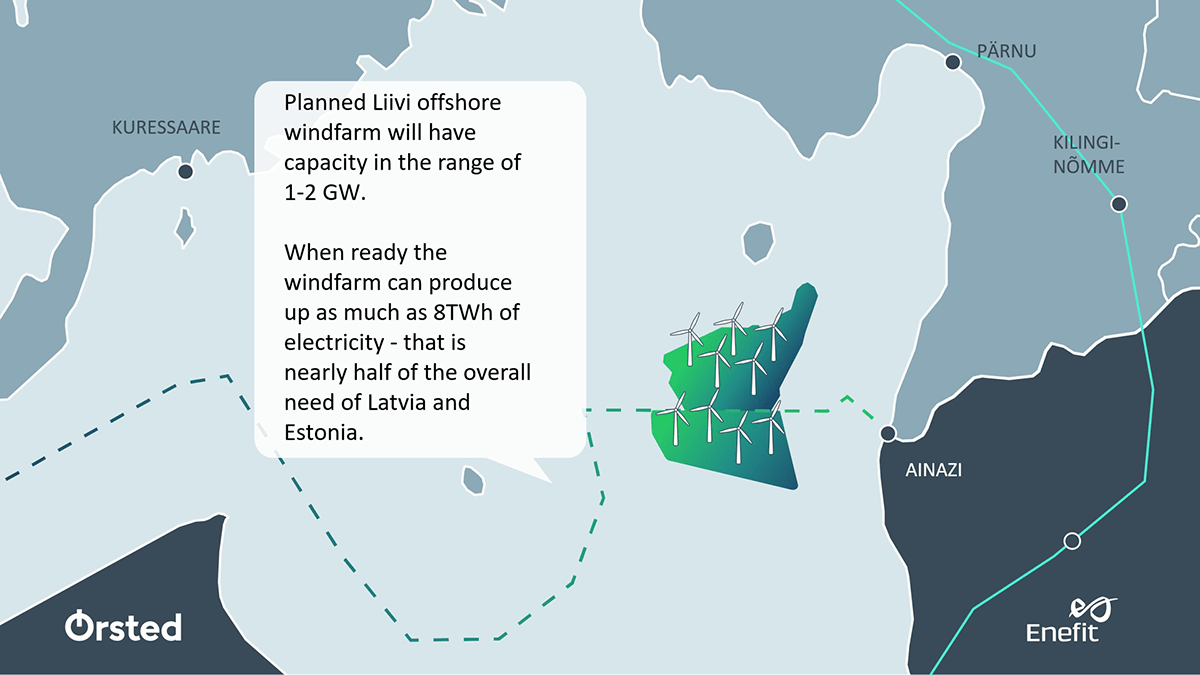 Ørsted and Enefit form partnership to deliver large-scale offshore wind in the Baltics