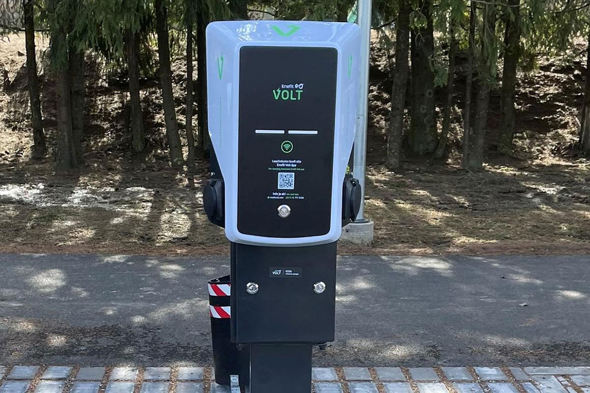 Tartu vald sai juurde kaks avalikku elektriautode laadijat