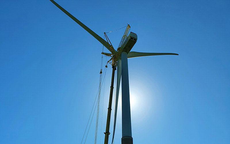 Enefit Green alustas tuuleparkide kõrgtöödel koostööd Eesti kraanateenuse pakkujaga