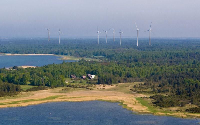 Годовой объем производства Enefit Green движется рекордным курсом