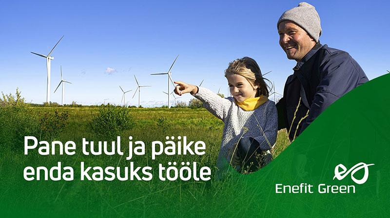 Enefit Green borrows 130 million euros to build wind farms