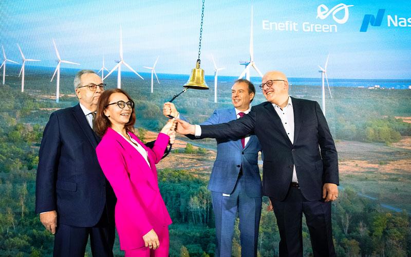 Nasdaq Welcomes Enefit Green to Baltic Main List
