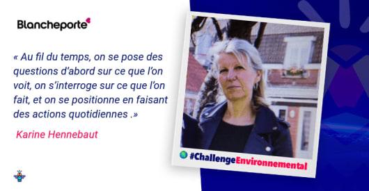 Portrait d'une engagée : Karine, Responsable Process chez Blancheporte