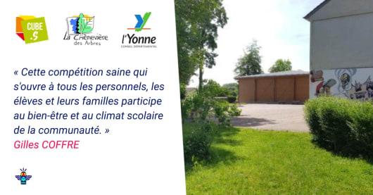 Le collège La Chenevière des Arbres engagé pour l'environnement