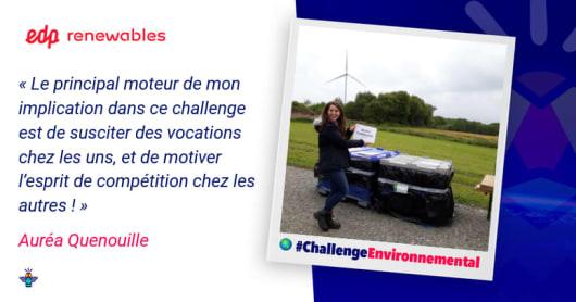 Portrait d'une engagée : Auréa, Spécialiste Environnement chez EDP Renewables