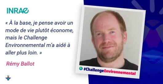 Portrait d'un engagé : Rémy, Ingénieur agronome INRAE