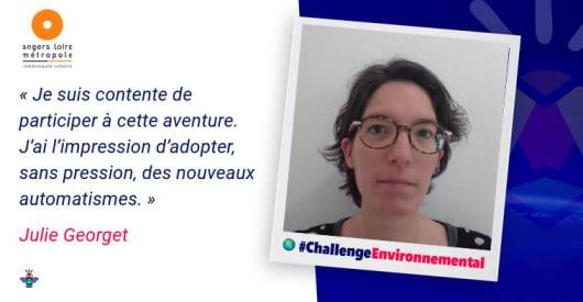Portrait d'une engagée : Julie, Adhérente au Saas et Auto-entrepreneur à Angers