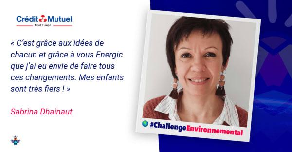 Portrait d'une engagée : Sabrina, Gestionnaire multiservices au Crédit Mutuel Nord Europe