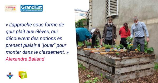 Les actions environnementales du Lycée Professionnel La Tournelle (54)