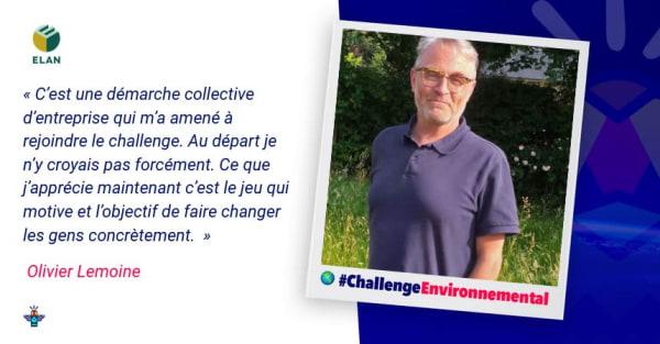 Portrait d'un engagé : Olivier, Directeur Biodiversité chez ELAN
