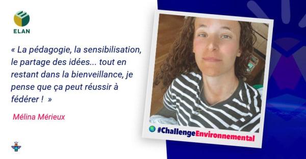 Portrait d'une engagée : Mélina, Ingénieure Construction Durable chez ELAN