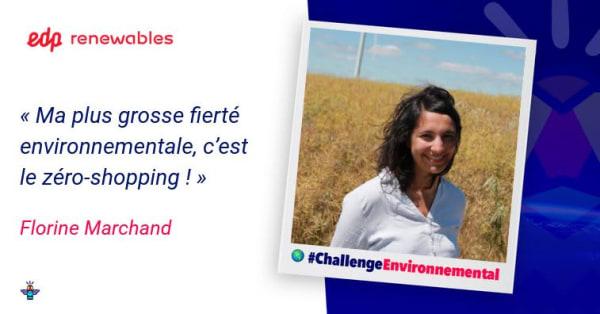 Portrait d'une engagée : Florine, Cheffe de projets éoliens chez EDP Renewables