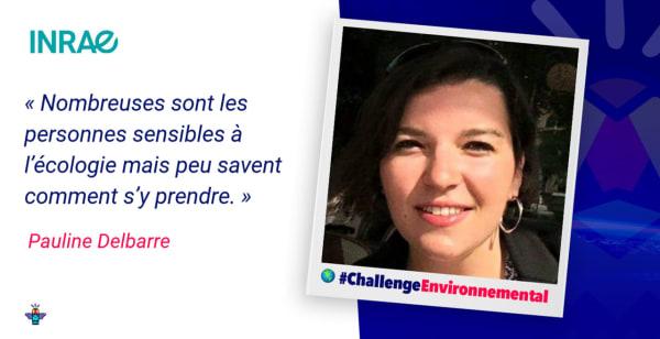 Portrait d'une engagée : Pauline, Chargée de mission Développement Durable / RSE au sein d'INRAE