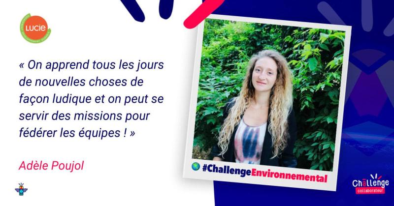 Portrait d'une engagée : Adèle Poujol, Chargée de développement à l'agence LUCIE