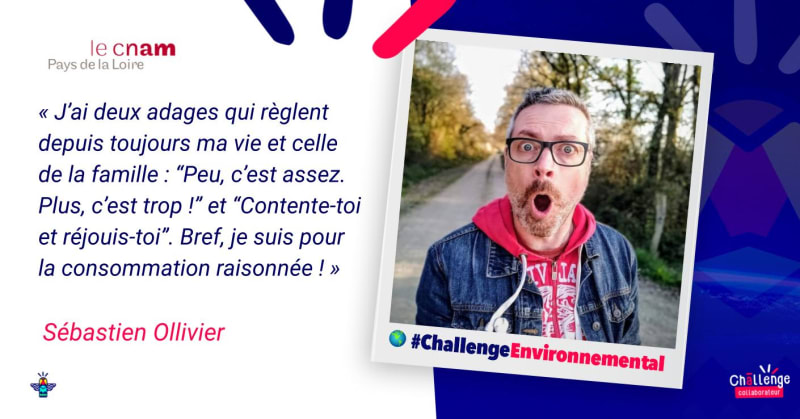 Portrait d'un engagé : Sébastien Ollivier, chargé de communication numérique au Cnam Pays de la Loire