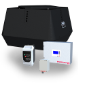 CASV Chimney Automation System (Termination) with chimney fan, modulating pressure controller, and motor controller