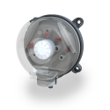 OPS Over-Pressure Switch—over-pressure draft protection for boilers and over-draft control system