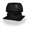 RS Chimney Fan—disperses the smoke sideways (horizontally) just like a standard chimney cap