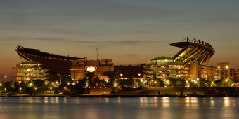 Heinz Field at sunset