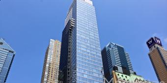The Platinum condominium exterior