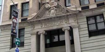 The Royalton front entrance