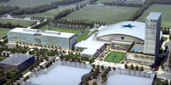The Star campus 3D rendering