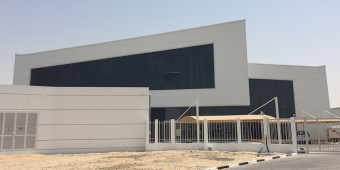 Champion Cleaners Central Plant exterior, Jebel Ali, UAE