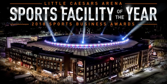 Detroit Little Caesars Arena sports facility of the year