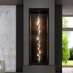 Residential Fireplace Spotlight Vertical Spiral