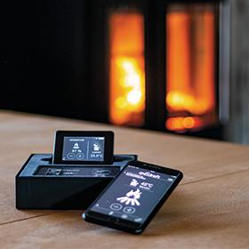 Xzense remote fireplace fan control