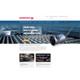 Enervex website home page
