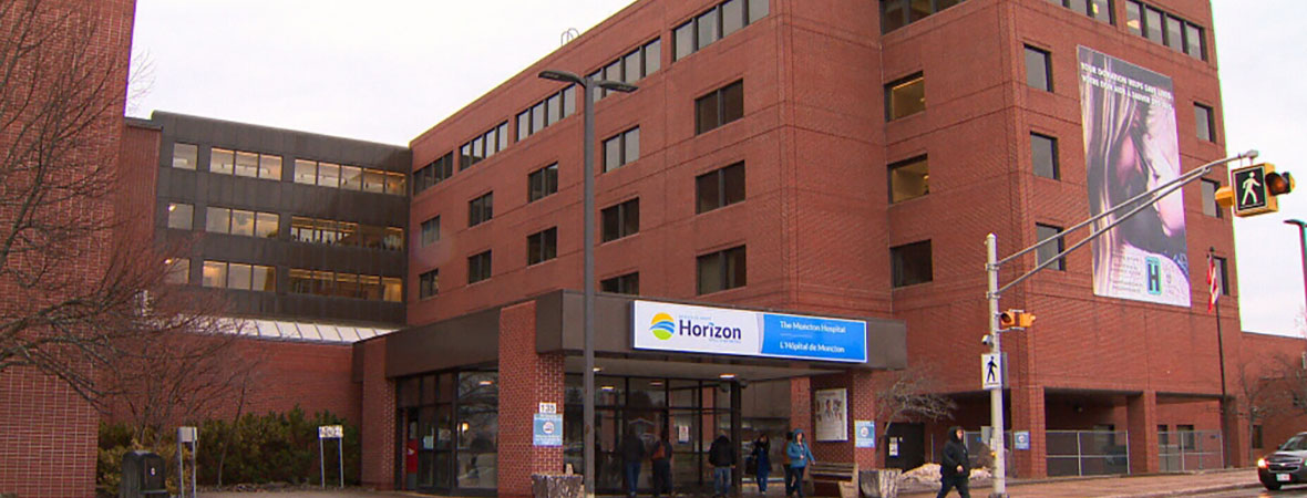 Front of Moncton Hospital