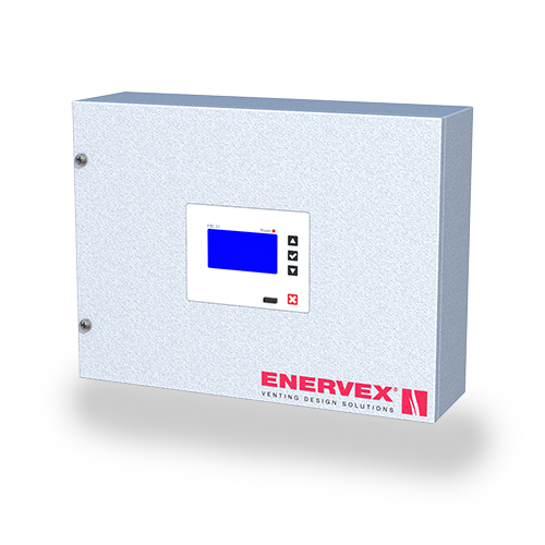 EBC 35 Modulating Pressure Control and CO Monitor—varies the speed of a fan(s) or the position of an actuator