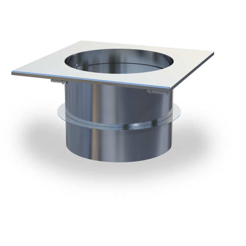 MFD-S Manual Fireplace Damper—used in a combined fan and damper system for use with solid-fuel applications
