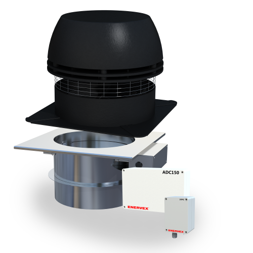 Intellidraft draft and damper system with chimney fan, fireplace damper, modulating fan and damper controller