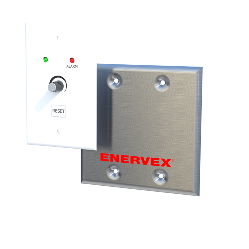 EFC 211 Solid Fuel Fan Controller—uses a control box and a speed control unit to monitor chimney fan operation