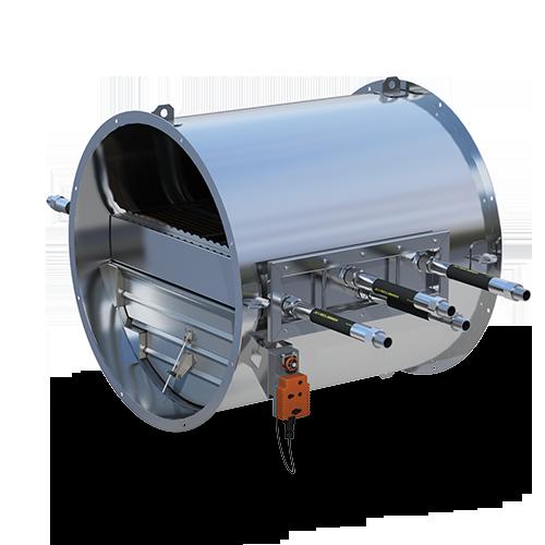 VHX Economizer Double Row—two-stage flue gas economizer