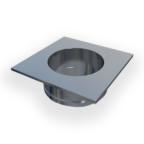 SCA Steel Chimney Adapter—provides support for the installation of an RSV chimney fan on a round steel chimney