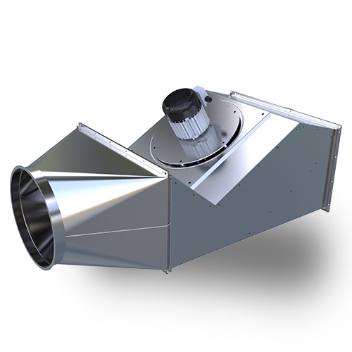 IPVB-EC Inline Power Venter—for undersized chimney systems with draft problems