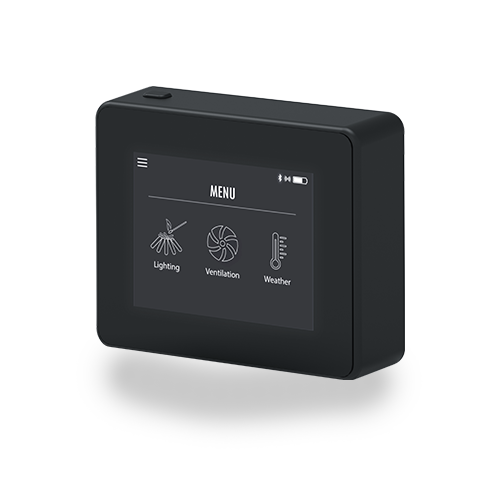 Xzense Smart Remote Control for Chimney Fans—get full control and a perfect flame pattern