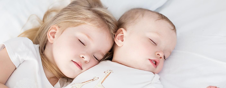 Sleeping siblings