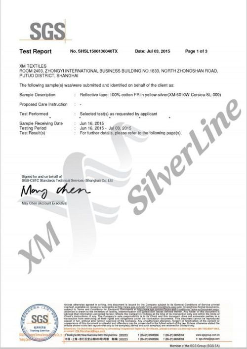 XM-6010W: EN 20471 <br>(50×60°С)