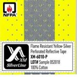 Perforated reflective tape XM-6010P complies with NFPA 2112