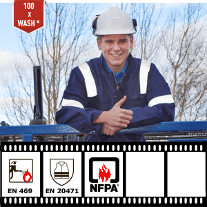 NFPA 2112 granted to reflective tape XM-6011 for FR-clothing