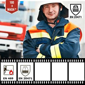 Reflective tape XM-7104 has been certified to EN 20471