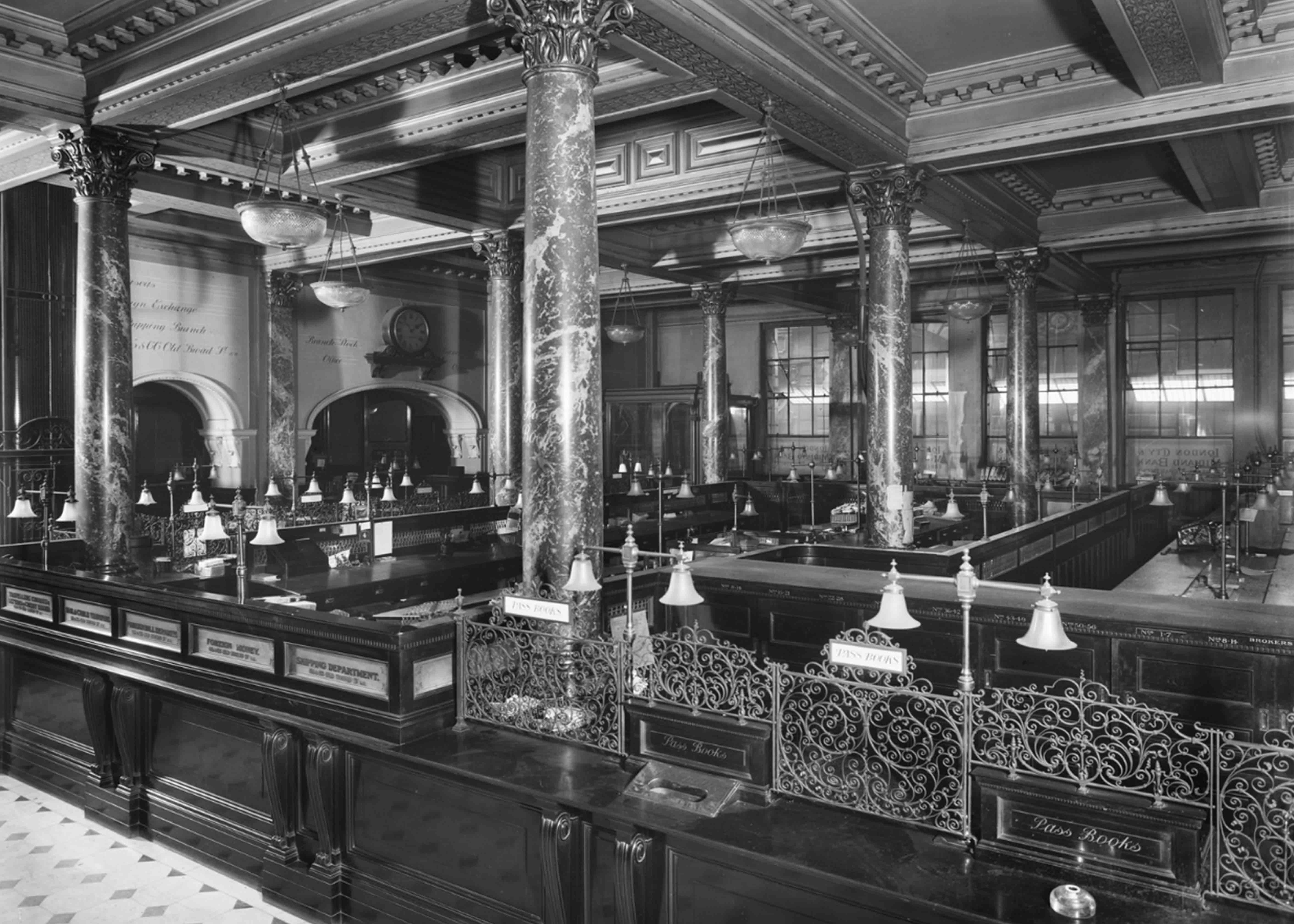 Historic image of the Midland Bank