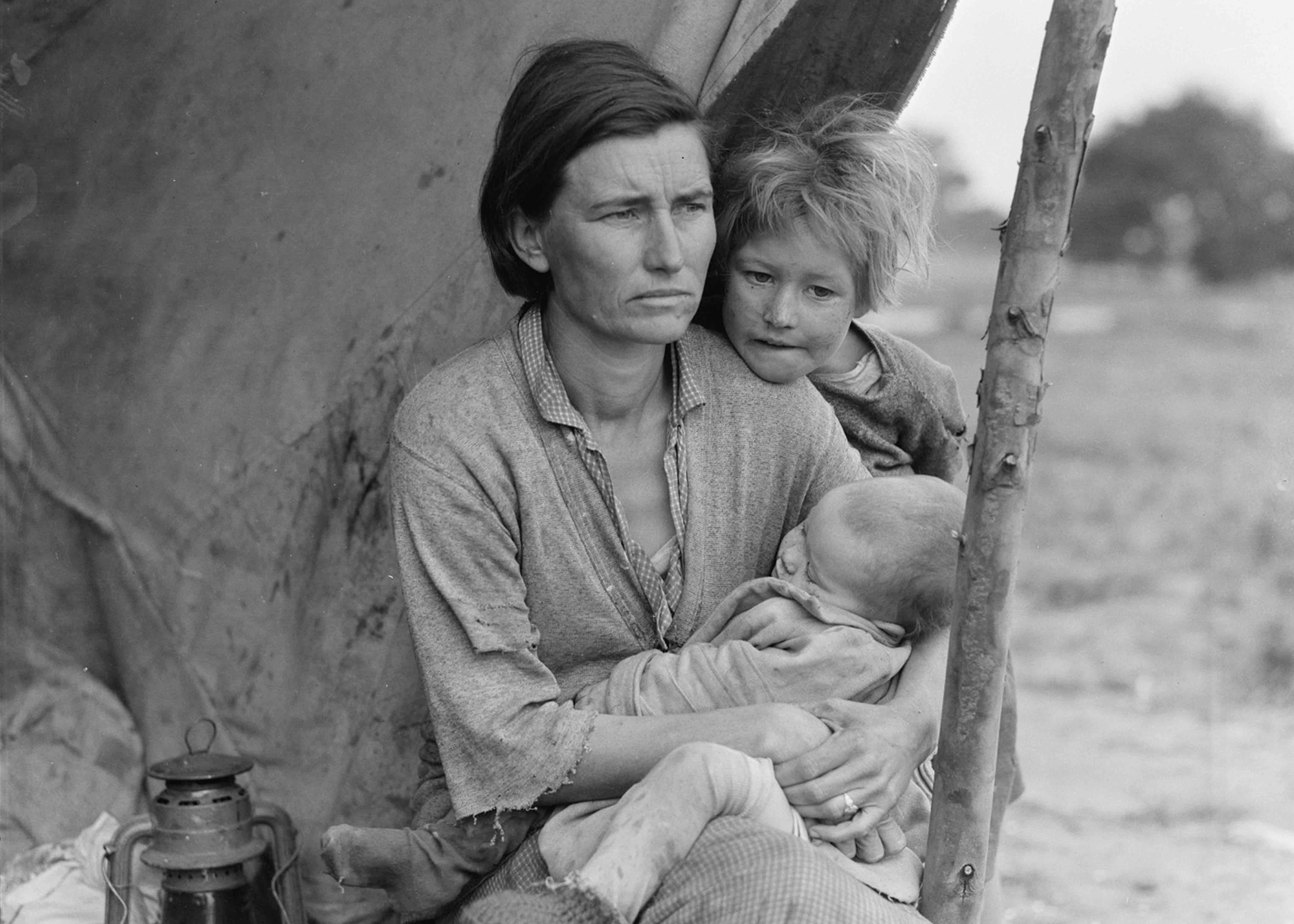 Migrant Mother (1936) Dorothea Lange
