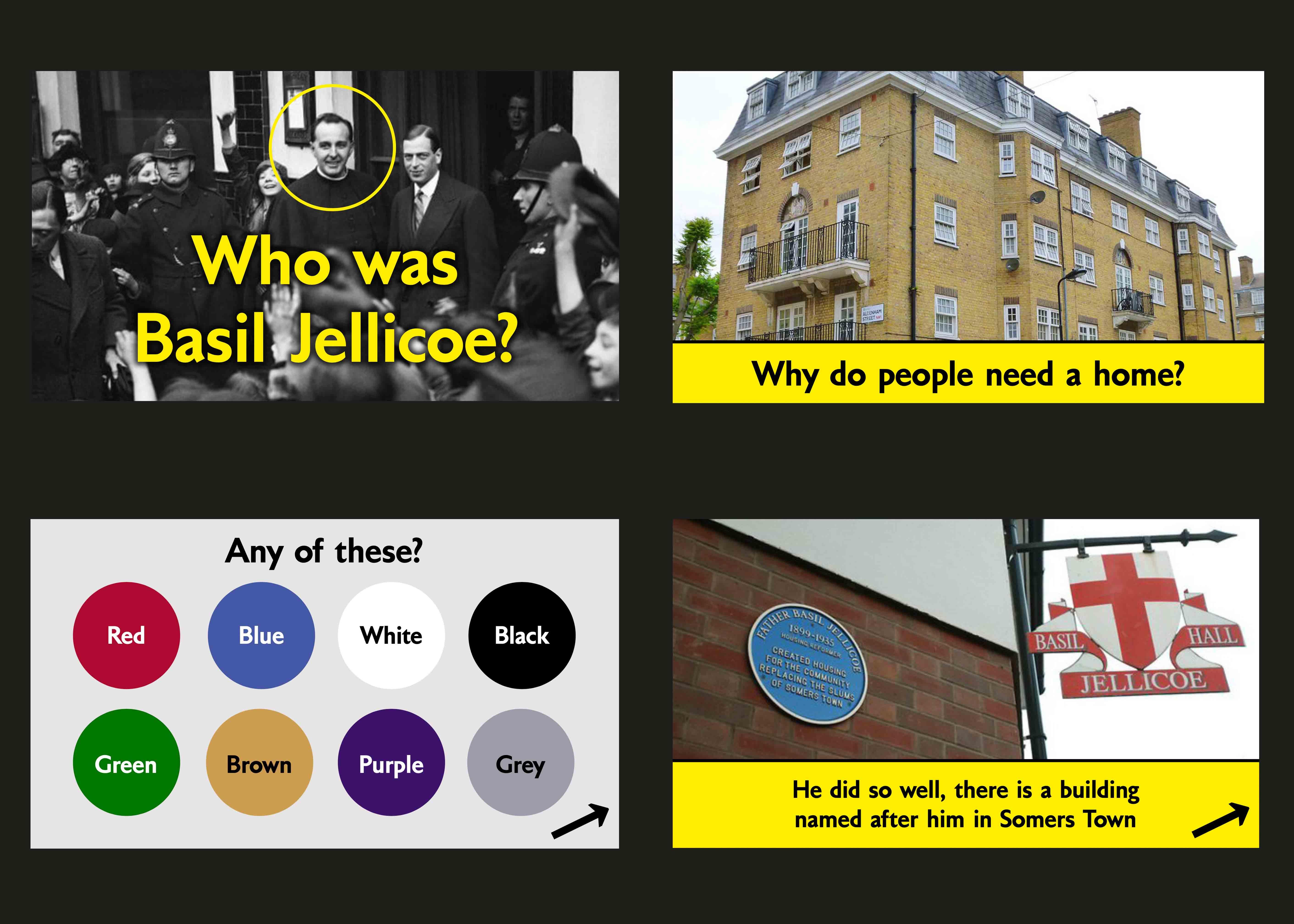 Slides from a presentation on Basil Jellicoe